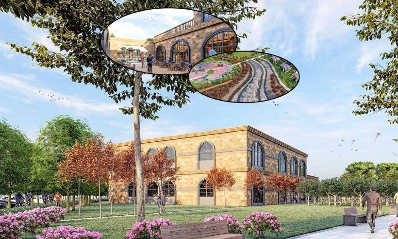 Mardin'in yeni millet bahçesi yöresel mimarinin izlerini taşıyacak
